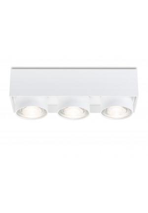 Mawa Wittenberg 4.0 Deckenleuchte halbbündig 3-flammig LED schwarz