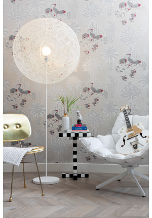 Moooi Random Light LED Medium Floor Lamp schwarz