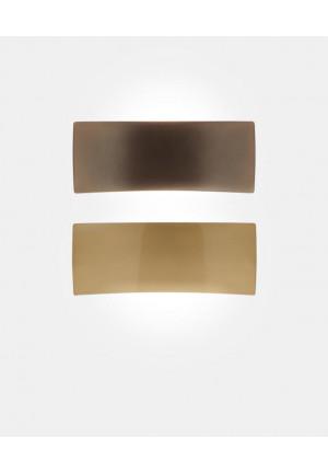 Oluce Lens 151 Kupfer und weiß