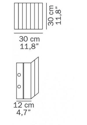 Oluce Pin Stripe 115 Ersatzteil