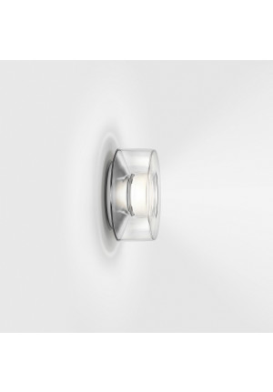 Serien Lighting Curling Wall Acryl klar S