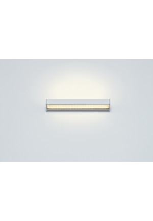 Serien Lighting SML2 Wall 300 Silber satinee / raster