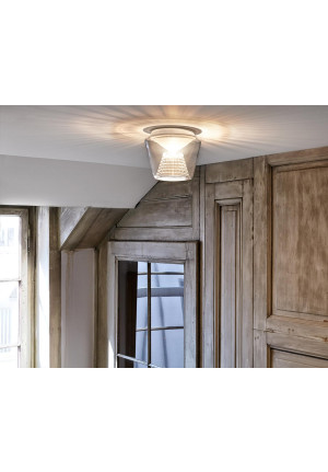 Serien Lighting Annex Ceiling LED klar/ Kristall