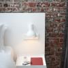 Anglepoise Type 75 Mini Wall Light weiß mit Wandanschluss