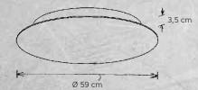Escale Blade 59 cm Grafik
