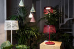 Foscarini Twiggy Grid Outdoor Sospensione rot (hinten rechts)