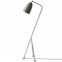 Gubi Gräshoppa Floor Lamp GM1 blau-grau