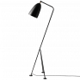 Gubi Gräshoppa Floor Lamp GM1 schwarz