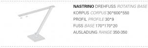 Byok Nastrino Drehfuß Grafik