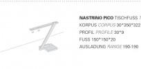 Byok Nastrino Pico Tischfuß Grafik