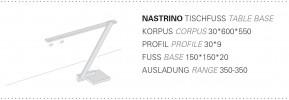 Byok Nastrino Tischfuß Grafik