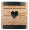 Keilbach Glasnost Holz, Ausführung heart