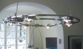 Licht im Raum Ocular 800 Niedervolt Edelstahl gebürstet