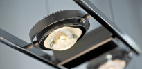 Licht im Raum Ocular 4 LED lang schwenkbare Linse