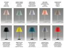 Luceplan Costanza Tischleuchte Schirmfarben