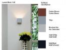 Lumini Brick 1-40 Farbtafel