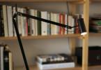Marset Polo Table Arme und Schirm schwarz
