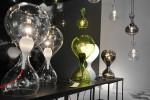 Next Blubb Tisch klar, grün, opal und chrom