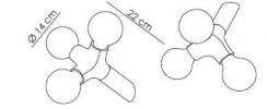 Next DNA Wand-Decke Single Grafik