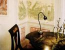 Serien Lighting Poppy Table arm schwarz, Schirm schwarzviolett