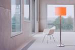 Serien Lighting Jones 34 cm mit orangem Glaseinsatz