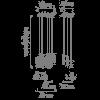 Vibia Cosmos 2510 Grafik