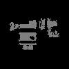 Vibia Suite 6041 Diffusor rechts Grafik