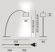 Twiggy Terra Ersatz- untere Diffusorscheibe inkl. Befestigungsstab LED