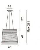 Tress Sospensione Grande Ersatz Schutzglas