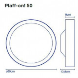 Plaff-on 50 Ersatzglas