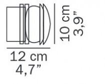 Fresnel 1148 Ersatz Glas
